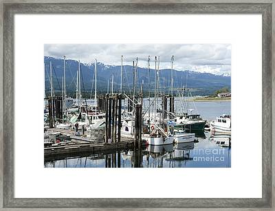 Deep Bay Harbor Framed Print by Artist and Photographer Laura Wrede