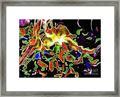Deep In My Heart... Framed Print by Jolanta Anna Karolska