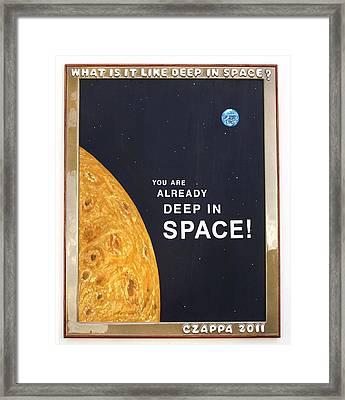 Deep In Space   #119 Framed Print by Bill Czappa
