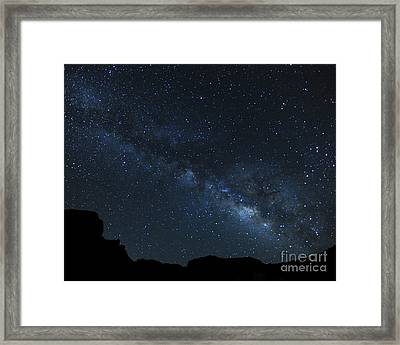 Deep In The Heart Of Texas Framed Print