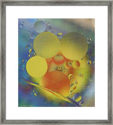 Deep Into Color Framed Print