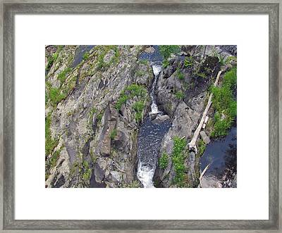 Deep Ravine Framed Print