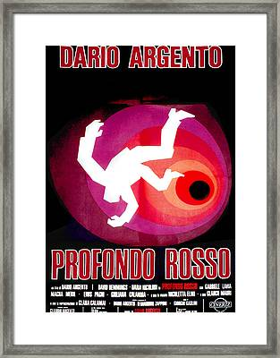 Deep Red, Aka Profondo Rosso, Italian Framed Print by Everett