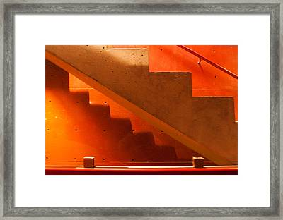 Deep Stairs Framed Print by Dale Davis