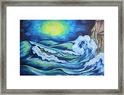 Deep Water - Wcs Framed Print
