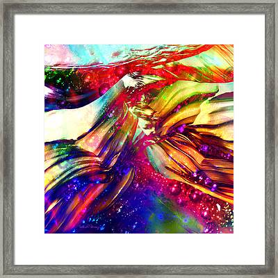 Deep Within Framed Print by Barbara Berney