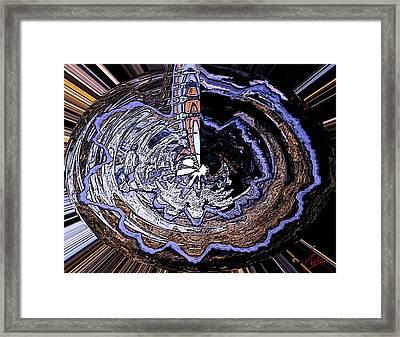 Deeper Life Circle  Works 2 Framed Print by Colette V Hera  Guggenheim