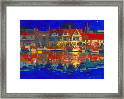 Deepest Silence Framed Print by David Bates