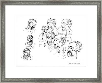Deepfreeze-s.pole-art5 Framed Print by Gordon Punt