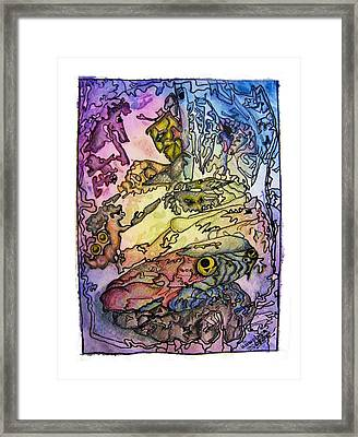 Deepsea Kritters Framed Print by Mimulux patricia no No