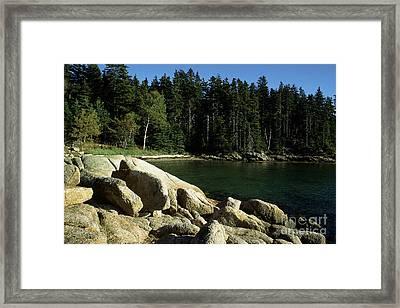 Deer Isle Maine Framed Print by Thomas R Fletcher