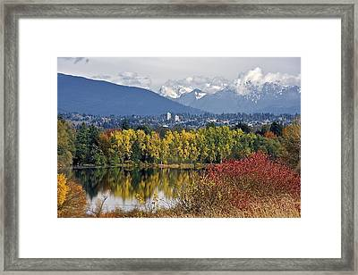 Deer Lake Framed Print