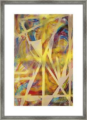 Defining Chaos Framed Print by Paula Cork