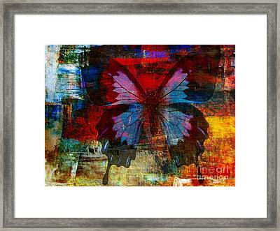Defining Something Framed Print