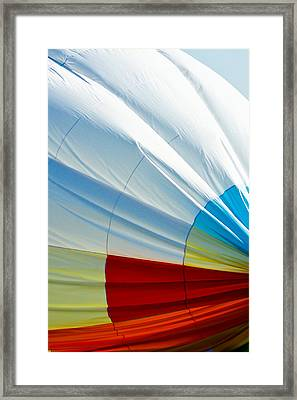 Deflating Framed Print