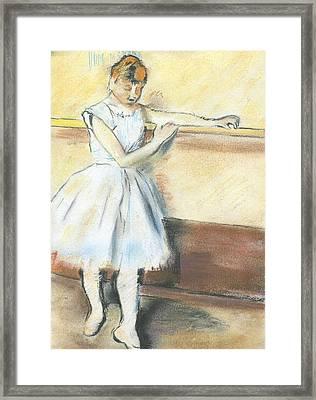 Degas's Ballerina Framed Print by Amanda Faries