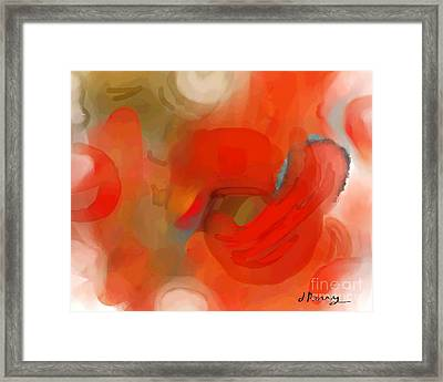 Delayed Framed Print by D Perry