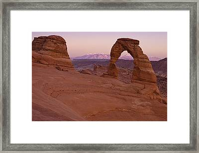 Delicate Arch Framed Print by Andrew Soundarajan
