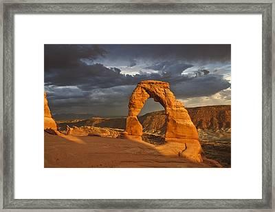 Delicate Arch Framed Print by Joyce Specht