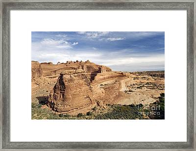 Delicate Arch Viewpoint - D004091 Framed Print by Daniel Dempster