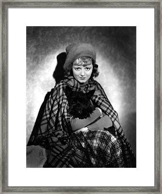 Delicious, Janet Gaynor, 1931 Framed Print by Everett