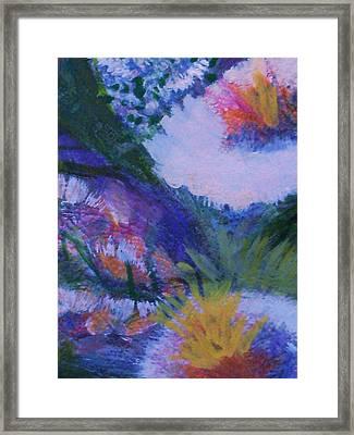 Delightful And Bright  Framed Print by Anne-Elizabeth Whiteway