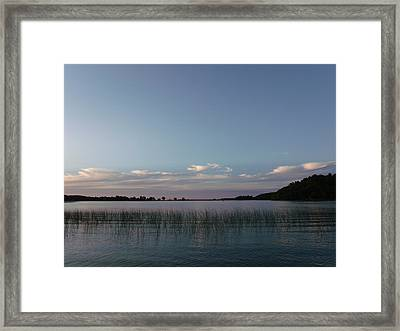 Delightful Dusk Framed Print by Brian  Maloney
