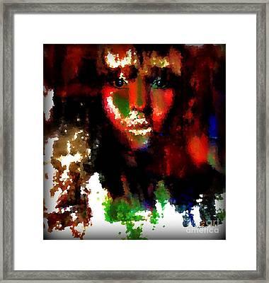 Delilah And The Secret Framed Print by Fania Simon