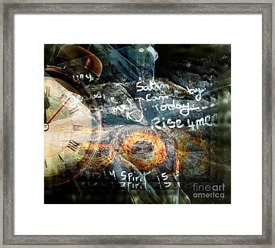 Deliverance In God's Time Framed Print by Fania Simon