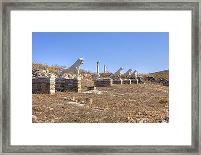 Delos Framed Print by Joana Kruse