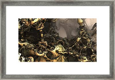 Delusion Confusion Framed Print