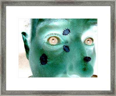 Delusional Parasitosis Framed Print by Christian Darkin