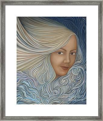 Demeter Framed Print by Joanna Pregon