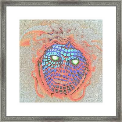 Demonic Appearance  Framed Print
