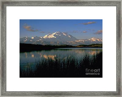 Framed Print featuring the photograph Denali by Doug Herr