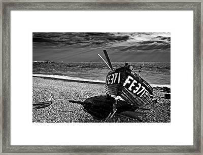 Denise And The Pier Framed Print