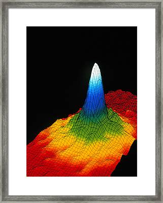 Density In A Bose-einstein Condensate Framed Print by National Institute Of Standards And Technology (nist)