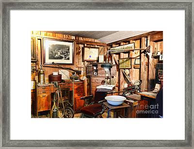 Dentist - The Dentist Office Framed Print by Paul Ward