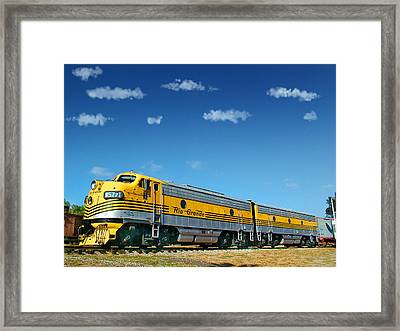 Denver And Rio Grande Western Funits A And B Framed Print by Ken Smith