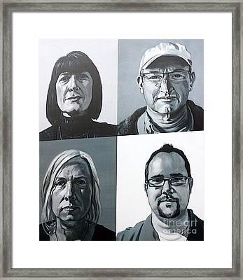 Denver Artists Framed Print