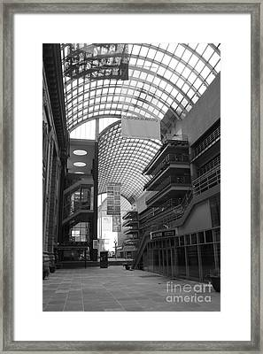 Denver Center For Performing Arts Framed Print by David Bearden