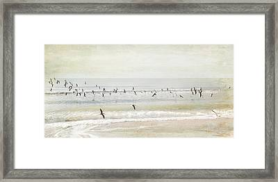 Framed Print featuring the photograph Departure     by Karen Lynch