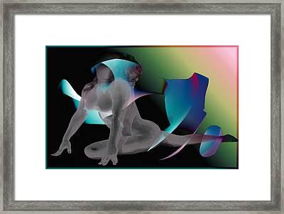 Depersonalization Depersonalizzazione Framed Print by Monica Ghit