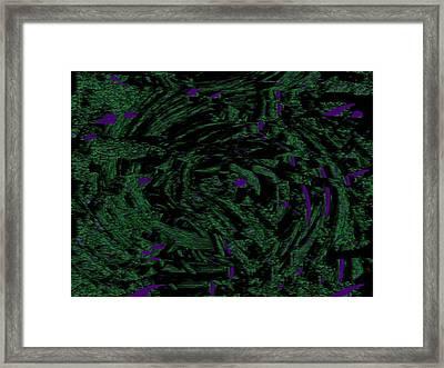 Deposited Disparity Framed Print