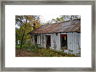 Depot Framed Print