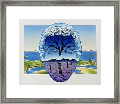 Depression Framed Print
