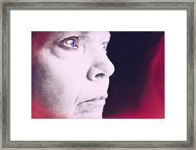 Depression Framed Print by Susan Leggett
