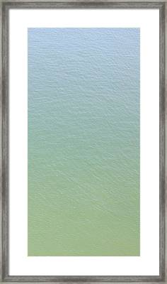 Depth Framed Print by Elizabeth Sullivan