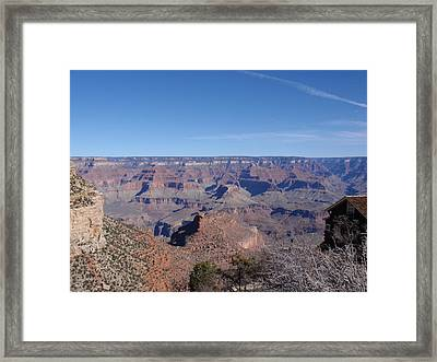 Depth Of Time Framed Print by