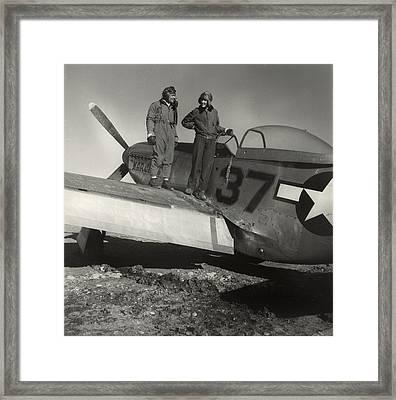 Deputy Group Commander George S. Spanky Framed Print by Everett